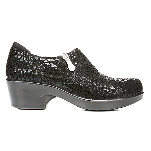 Naturalizer 'Florence' Black Cheetah Clog Black Women's pTqwp0gn