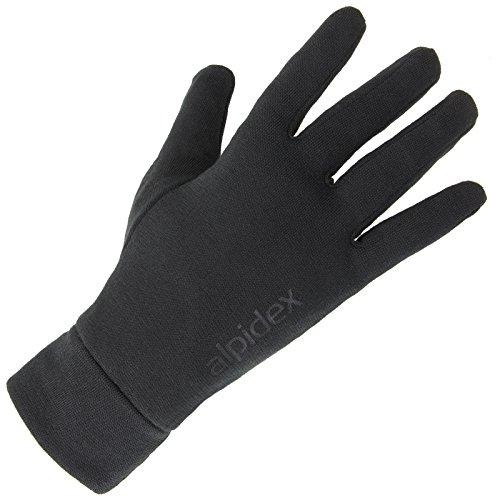 ALPIDEX undergloves liner gloves SHAVEN SHEEP light running glove thin warm...
