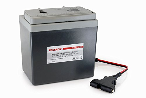(Tenergy Lithium 12V 24Ah Replacement Battery for Powakaddy, Motocaddy, PowerBug Lithium Electric Golf Trolleys)