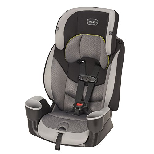 Evenflo Maestro Sport Harness Booster Car Seat, Crestone Peaks (Convertible Seat Car Booster)