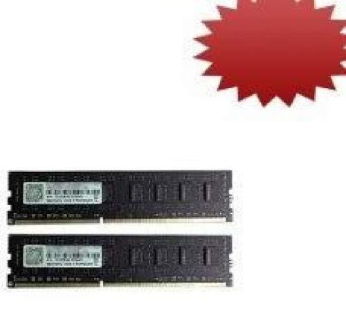 (G.SKILL Value Series 8GB (2 x 4GB) 240-Pin DDR3 SDRAM DDR3 1333 (PC3 10666) Desktop Memory Model F3-10666CL9D-8GBNT)