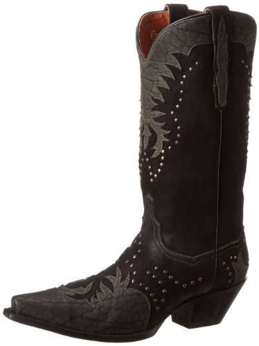 Dan Post Women's Invy Western Boot,Black, 7 M US
