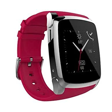 Amazon.com: SKY Devices SKY Watch - 2G Smart Watch with Bluetooth Conectivity 1. 54 Inch IPS Screen and 8MB of ROM 0. 03MP Camera - Red: Cell Phones & ...