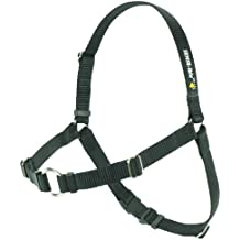 SENSE-ible No-Pull Dog Harness - Black Medium/Large (Narrow) by Softouch