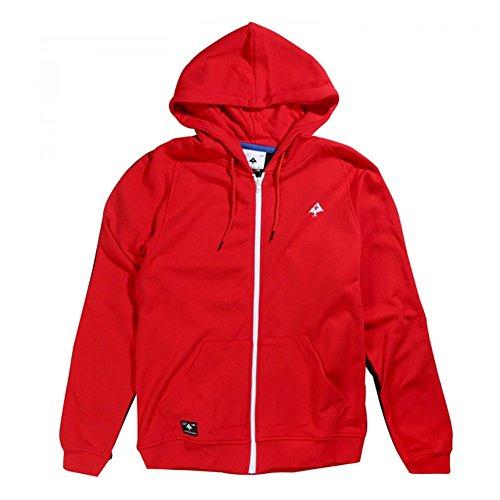 Zip Lrg Hoody (LRG Men's Mile High Full Zip Hoodie Red M)