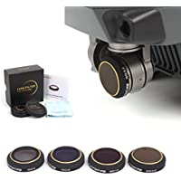 Drone Fans 1 Pc Camera Lens Filter ND4 / ND8 / ND16 / ND32 for DJI MAVIC PRO Wont Affect Gimbal Self-inspection
