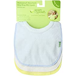 Stay-dry Milk Catcher Bib, Pack of 3