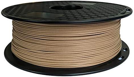 Filamento para impresora 3D PLA de madera oscura, 1,75 mm, 1 kg ...