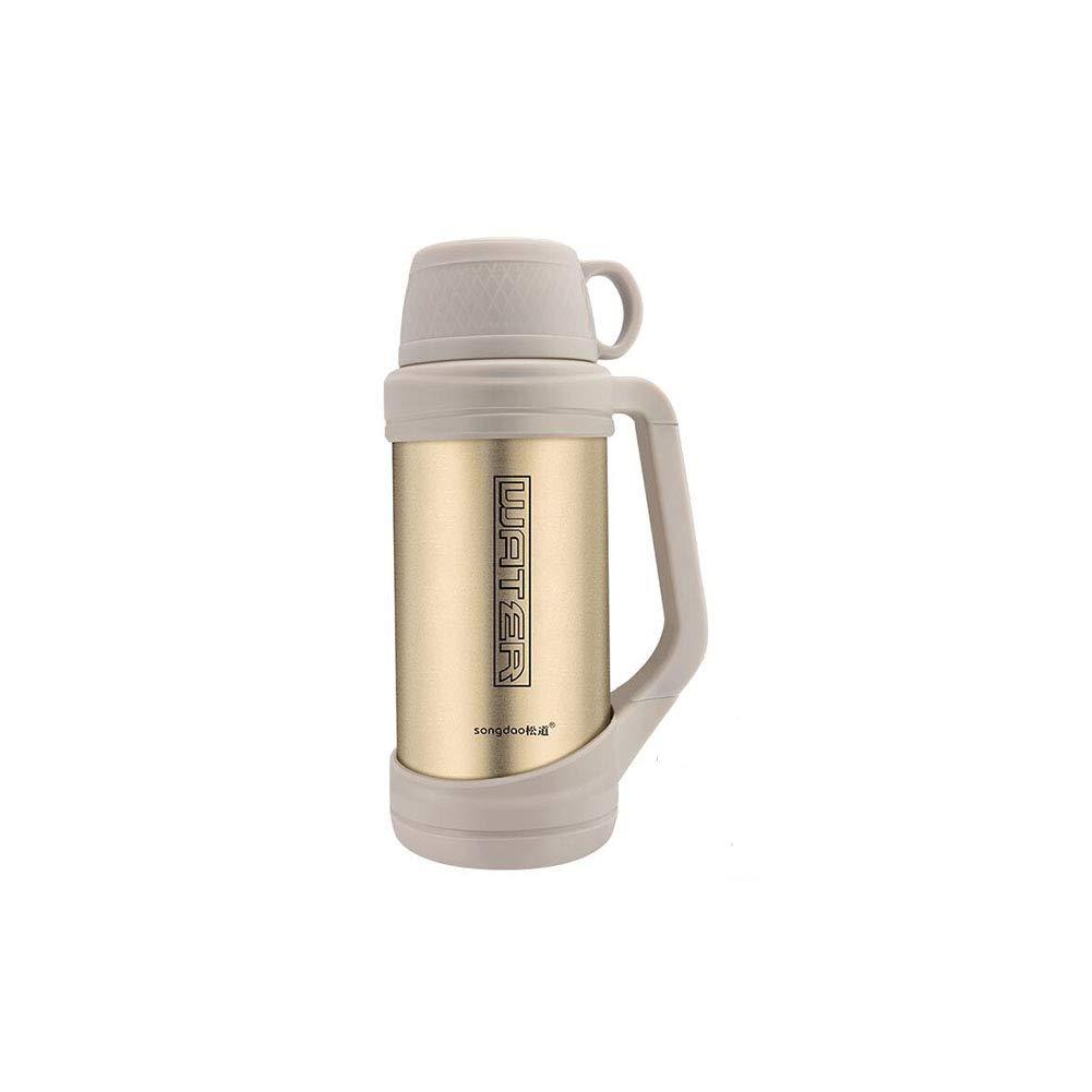 FF Isolation Topf Große Kapazität Wasser Tasse Tragbare Auto Reise Outdoor Große Thermos Männliche Weibliche 2.6L Hause