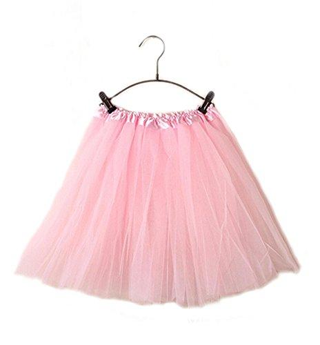 GGTFA Adulte Ballet Robe De Tulle Tutu Jupon Jupe De Danse Lumire Rose