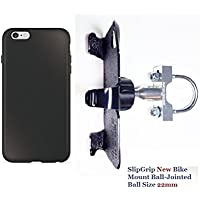 SlipGrip U-Bolt Bike Holder For Apple iPhone 6S Plus Using RhinoShield PlayProof Case