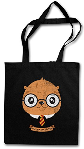 HARRY OTTER HIPSTER BAG – lontra Fun Potter Wizard Animal Wildlife Nature Outback Forest Woods Canada Fish Fisch River Fishing Outdoor Sport