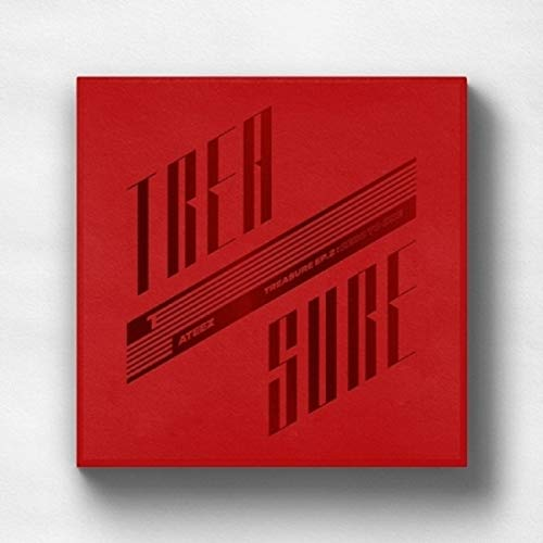 ATEEZ - TREASURE EP.2 ZERO TO ONE Album CD+Photo Booklet+Folding Poster+Photo Card (Original - Entertainment Card