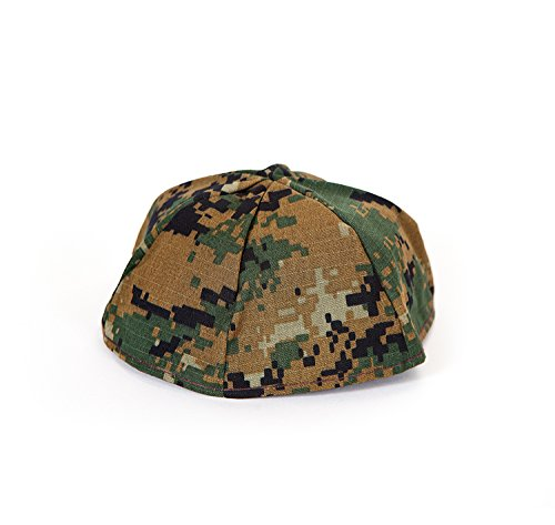 Us Army Woodland Camo (Men's Camouflage Kippah - Genuine MARPAT Woodland US Army Marines Yarmulke - Jewish Gifts by Susan's Judaica)
