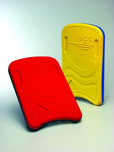 Water Gear PEF Kickboard for Competitive Swimming - RED/BLUE