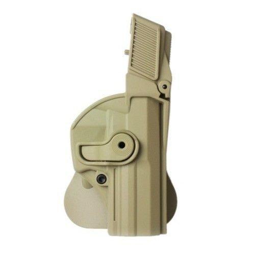 IMI Defense Z1440 Level 3 Tactical verstellbar drehbar drehung Pistole holster für Heckler und Koch USP Full-Size / Standard H&K FS verdeckte Trage POLYMER Taktik ROTO Pistolenhalfter
