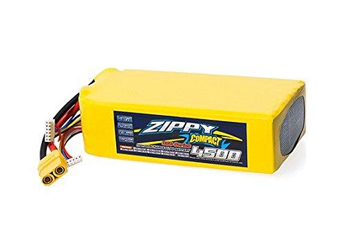 ZIPPY Compact 4500mAh 10S 35C Lipo Pack w/ XT90