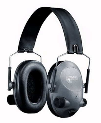 3M Peltor Tactical 6-S Slim Line Electronic Headset, Hear...