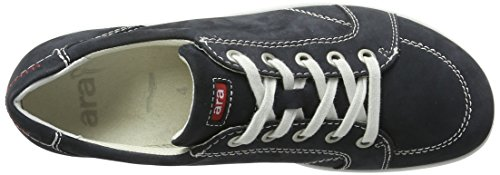 Ara Dames L.low Schoenen Blauw / Wit Breed G Blauw / Wit Breed G