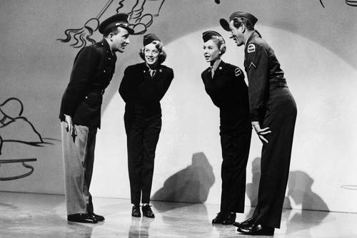 bing crosby and rosemary clooney and vera ellen and danny kaye in white christmas 11x17 - Danny Kaye White Christmas