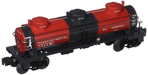 Williams by Bachmann Transcontinental Oil O Scale 3Dome Tank Car (Transcontinental Oil)