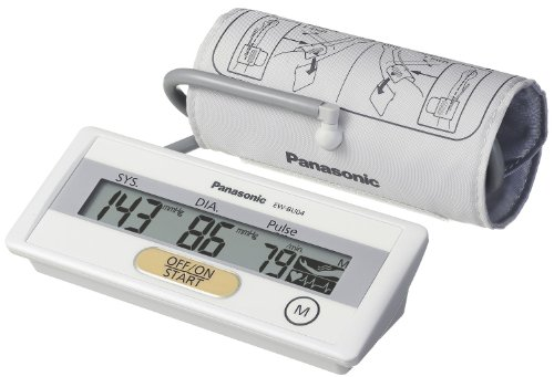 Panasonic EW-BU04W Upper Arm Blood Pressure Monitor Descript