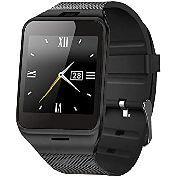 GPDSTAR Bluetooth Smart Watch Wearable Wrist Upgraded Smartwatch For Android Phone (GV18-1)