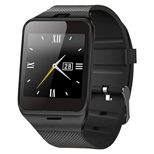 - GPDSTAR Bluetooth Smart Watch Wearable Wrist Upgraded Smartwatch For Android Phone (GV18-1)