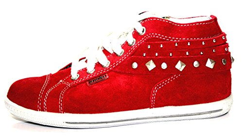 Ricosta 5023800 enfants chaussures fille femme-rouge-taille 31