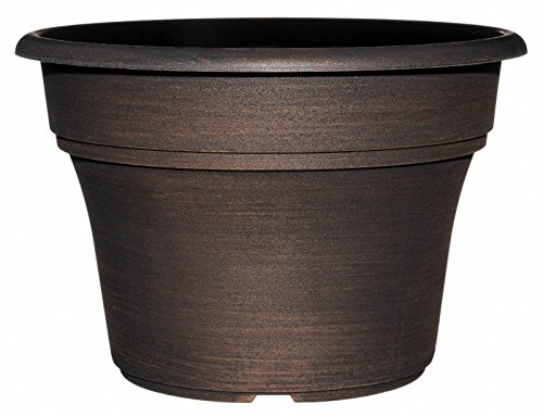"GARDENGOODZ Capello Planter, 11.25"" Antique Copper"