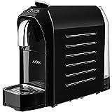 Nespresso Machine, Aicok Nespresso coffee machine, Fast Heat Coffee Maker, Espresso Coffee Maker, Red & Black