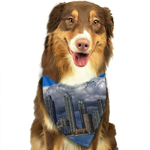 (Pet Scarf Dog Bandana Bibs Triangle Head Scarfs Toronto Accessories for Cats Baby)