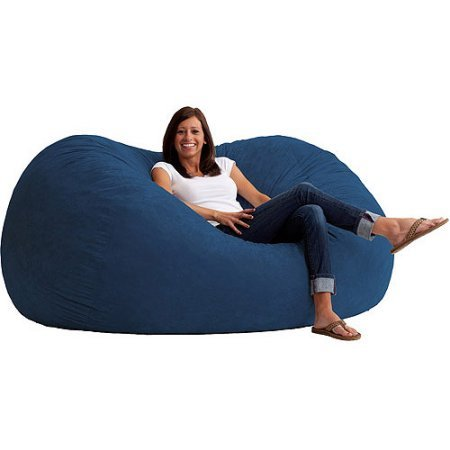 Amazon.com: Puf silla, tamaño XL, relleno de 6 con espuma ...