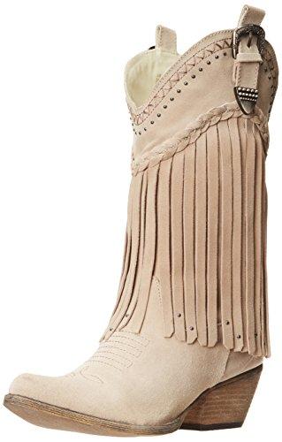 Very Volatile Women's Pasa Western Boot, Beige, 6.5 B US