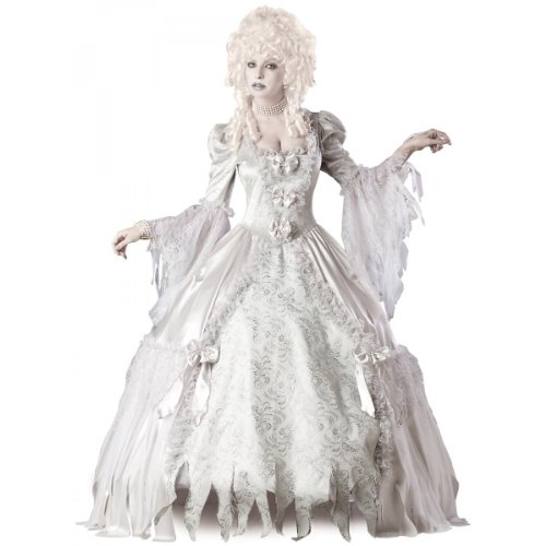 InCharacter Costumes Corpse Countess Costume, White, Large -