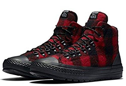 Sneakers Woolrich X Red Black Mens Street City Taylor All Black Fashion Chuck Star Converse Hiker P5fSpxqwq