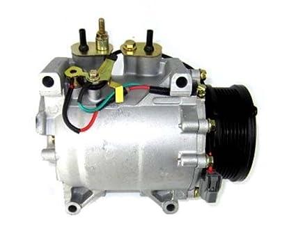 Amazon.com: New Automotive AC Compressor with Clutch HS110R Style: Automotive