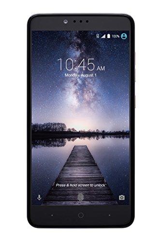 ZTE ZMAX PRO Z981 Unlimited 4G LTE 13MP Smartphone (Metro PCS) (Zte Zmax Cell Phone)
