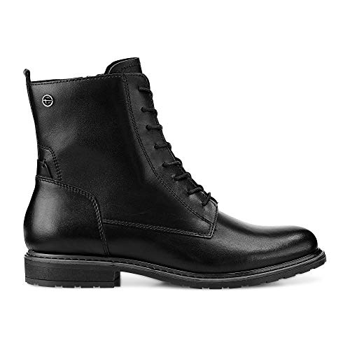 Femme Bottes Noir Rangers 25125 3 Leather black Tamaris 21 wUaqRFxEnI