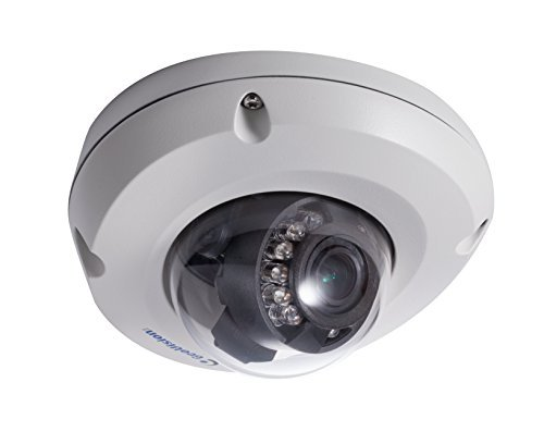 (GeoVision GV-EDR2700-2F 2MP 3.8mm H.265 Super Low Lux WDR Pro IR Mini Fixed Rugged IP Dome)