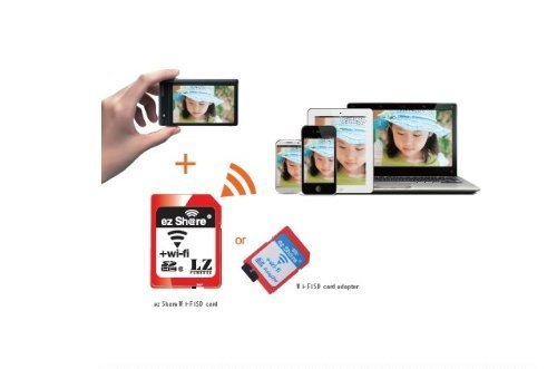 Ez Share Wifi Sd Memory Card Adapter available for DC / DV...