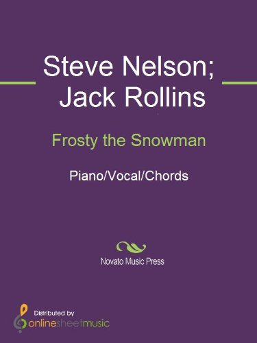 frosty the snowman by jack rollins steve nelson the ronettes
