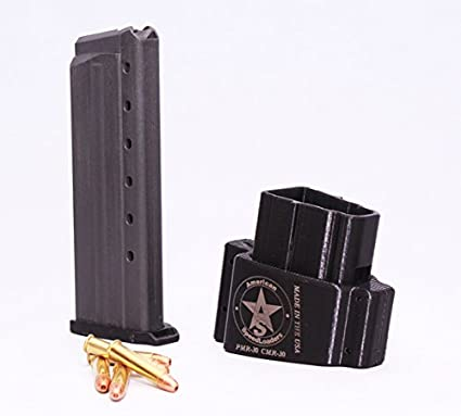.22 MAG WMR Makershot USA Magazine Speedloader Kel-Tec PMR-30