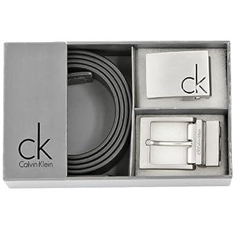 Calvin Klein K72228 Guertel-Set schwarz silber one size  Amazon.de ... 19f8f7efec7