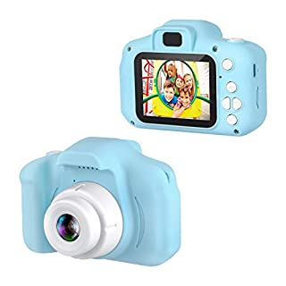 """Dartwood 1080p Digital Camera for Kids with 2"""" Color Display Screen and Micro-SD Card Slot for Children (32GB SD Card Included) - Blue"""