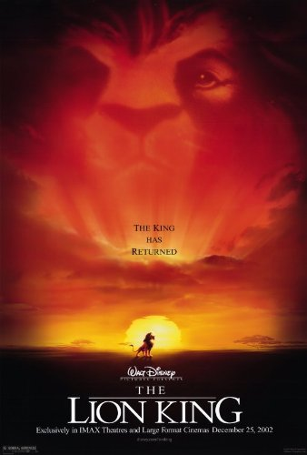 Image result for the lion king poster