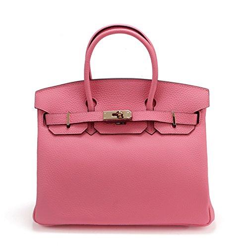 Dames GUANGMING77 À Sac Main Pink Sac Gaufré qaaCSwxHX