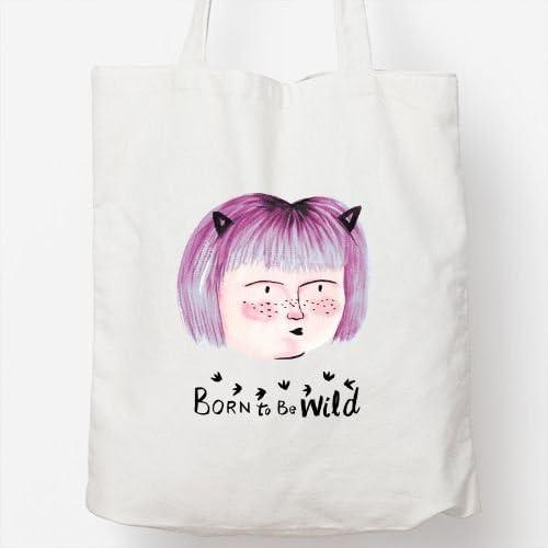 Positivos Bolsos Totebag Bolsa Tote algodón Born to be Wild ...