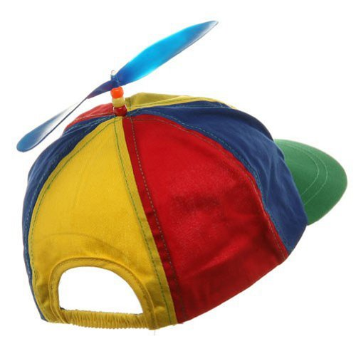 c94444ca2 Forum Novelties Child Propeller Beanie Multi Colored Baseball Hat