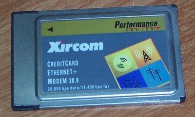 Xircom - XIRCOM PS-CEM-28 ETHERNET/MODEM PCMCIA NO CABLE - PS-CEM-28